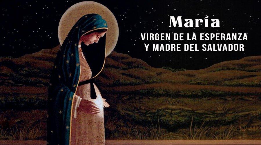 O Mundo Inteiro Espera A Resposta De Maria: Oración A La Virgen De La Dulce Espera Para Pedir Ser